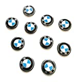 Sticker BMW Set 10Teile Emblem Schlüssel Auto
