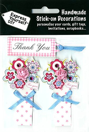 DIY Cards Handmade Stick-on Decorations 3D Motiv-Sticker DIYT269,