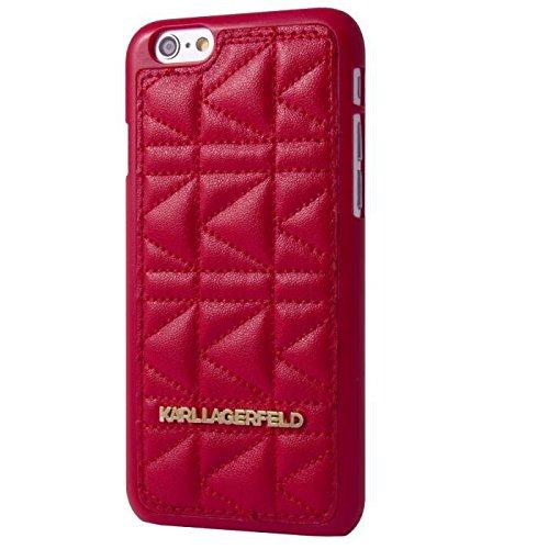 Karl Lagerfeld-Custodia per iPhone 5/5S, colore: rosso