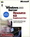 Microsoft Windows 2000 Server Resource Kit, Supplement 1, 1 CD-ROM The updated scripts and tools you need to deploy and support the Windows 2000 platform in your organization. Includes Windows 2000 Service Pack 1 Bild