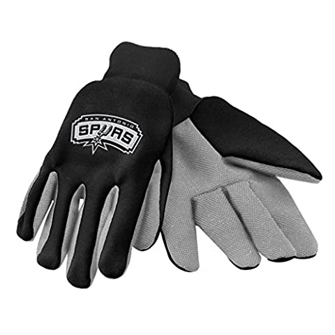 NBA coloré Palm Gant, mixte, These Forever Collectibles palm gloves features plastic beading at the palm and fingers for extra grip, an embroidered team logo, and team color fabric; just what you need for the next home improvement project, or next home game