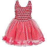 Wish Karo Baby Girl's Party Wear ock Dress DN 103Pnw fr103Pnw-3-4 Years