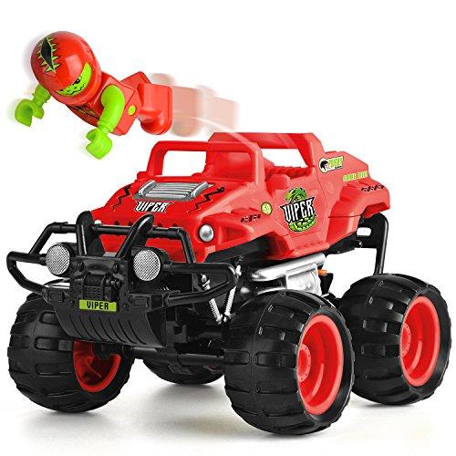 Monster Smash Ups Remote Control Race RC Truck - Viper