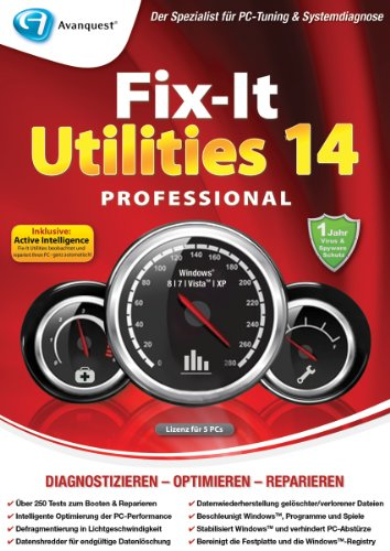 Fix-It Utilities 14 Professional [Download]