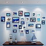 XUEYAN Moderne Bilderrahmen Wand | Kombinierte Wand-Bilderrahmen | für Korridor Wohnzimmer | Set von 26 (Farbe : Color#2)