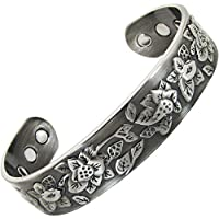 Damen-Armband Kupfer magnetisch für Arthritis Schmerzlinderung Gesundheit Armbänder Heilende Magnettherapie Armreif... preisvergleich bei billige-tabletten.eu