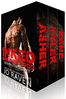 Inked Brotherhood Bundle (Books 1-3): Inked Boys by [Raven, Jo]