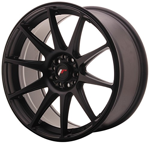JAPAN Racing JR11 Flat Black 8.5 x 18 et40 5 x 112/114 jantes en alliage