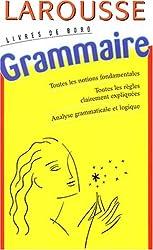 Livres de bord : Grammaire