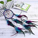 Gaddrt 55cm Spitze Dream Catcher Feather Bead ideal für hängende Ornament Geschenk Decor