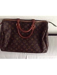 Louis Vuitton Louis Vuitton Speedy - Bolso de asas para mujer marrón