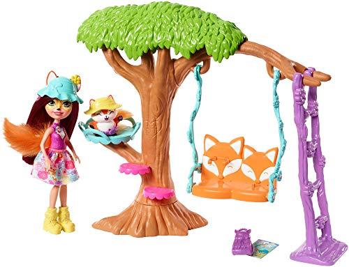 Enchantimals FRH45 - Felicity Fox und Flick Spielplatz-Abenteuer (Puppe Spielplatz)