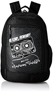 American Tourister 28 Ltrs Black Casual Backpack (AMT PING Backpack 02 - Black)