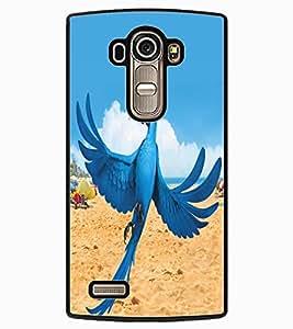 ColourCraft Lovely Parrot Design Back Case Cover for LG G4
