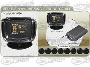 Radar de recul avec ecran et 8 capteurs (4AV+4AR)