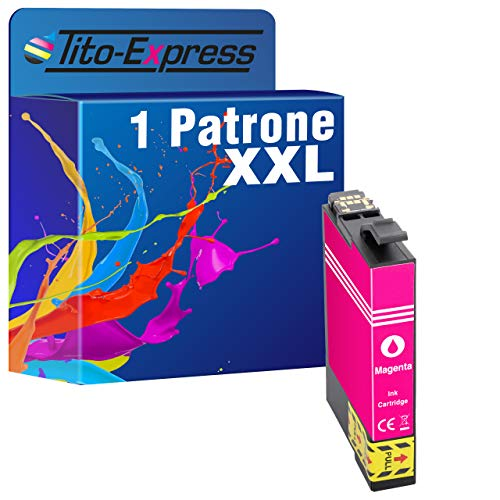 tito-express platinumserie-Cartucce d' inchiostro XL compatibili con Epson 29X L te2991-te2994, Expression Home XP-335xp-330Series (5) 1 Unità - Magenza
