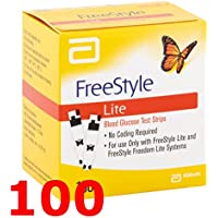 FREESTYLE Lite - 100 Streifen reaktive für die Test der Blutzucker - free style preisvergleich bei billige-tabletten.eu