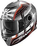 Shark Casco Integrale Spartan Replica Zarco Malaysian GP Nero Bianco Rosso AWR Taglia M