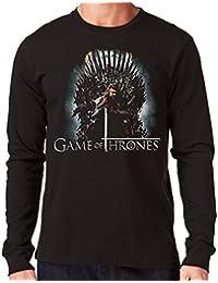 0b5c27241cfde 35mm - Sudadera Con Capucha - Hellraiser Giger -Hoodie · 35mm - Camiseta  Hombre Manga Larga - Game Of Thrones - Series - Tv - Long