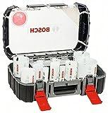 Bosch 2608594063 13-Set di seghe a tazza progressor universal 20/22/25/32/35/40/44/51/60/64/76 mm