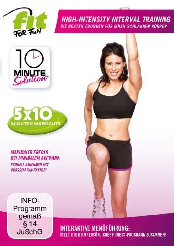 Fit for Fun - 10 Minute Solution: High-Intensity-Interval Training