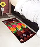 #9: Warmland Floral Polycotton Bed Side Runner - 30