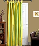 Tidy Green with Yellow Colour Cotton Loo...