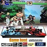 Console de jeux vidéo Arcade Pandora Box 3D Console De Jeux D'arcade Full HD 2 Joueurs Arcade Machine Support Carte TF Pour Ajouter Plus De Jeux Pour PS3 / LCD TV / Ordinateur De Bureau / Projecteur