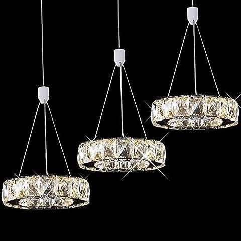 XIAOMINZI Vento Industriale Lampadario Ristorante Moderno E Minimalista, Creative Crystal