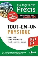 Physique PSI/PT - Conforme au programme 2014 - Précis tout-en-un - Cours - Méthode - Exercices Poche