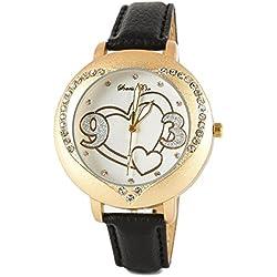 Womens Heart Detail Watch