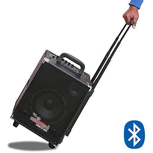 5 Core Portable wireless Hi-Fi speaker with built in Bluetooth, Amplifier & 7 channel equalizer with Recording facility enabled, Trolley Type PA DJ Solution also known as Portable Wireless Amplifier