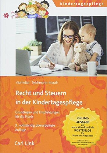 Recht und Steuern in der Kindertagespflege