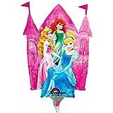 Globos en forma de Disney princesa Cenicienta Ariel Aurora Tiana Rapunzel Bella