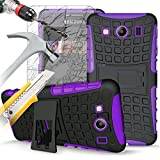 IWIO Samsung Galaxy Ace 4 Violet NoirShock active dur dur Rugged lourd Cover Case...