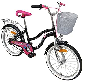 Stamp MO130040SE - Bicicletta Monster High 20, Nera