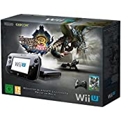 Nintendo Wii U - Konsole, Premium Pack, 32 GB, schwarz - Monster Hunter 3
