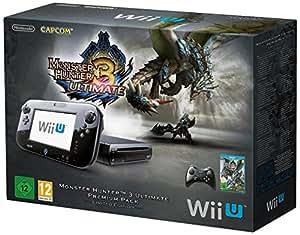 Nintendo Wii U - Konsole, Premium Pack, 32 GB, schwarz - Monster Hunter 3