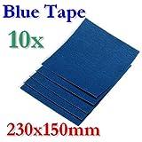 BlueTape Druckbett Klebe-Blatt 230x150mm 10 Blatt