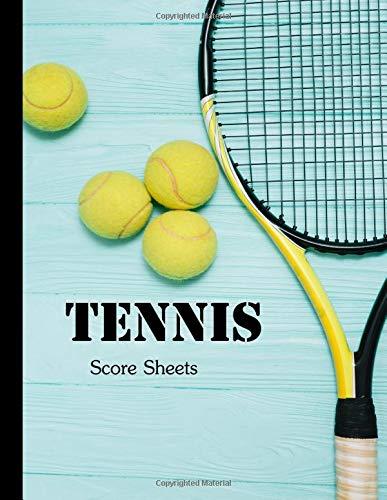 Tennis Score Sheets: Record singles or doubles play , Tennis Score Notebook por Oryzastore Publishing