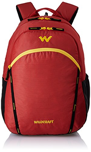 Wildcraft Polyester 38 Ltrs Red School Backpack Wc 2 Latlong 2