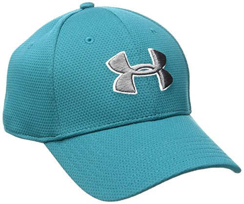 Under Armour Herren Stretchkappe Blitzing II Turquoise Sky/White