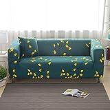 iShine Sofa Überwürfe Sofabezug mit Stretch Elastische Sofabezug Slipcover Sofa Abdeckung in verschiedene Größe und Farbe-GR/B-90x140cm