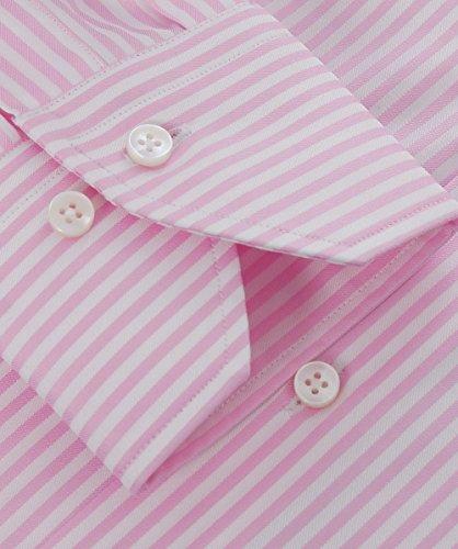 Stenstroms Hommes chemise équipée pinstripe Rose Rose