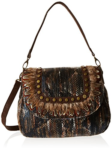 Lollipops Yaigle 22225, Borsa a spalla donna , Marrone (Marrone (Brown)), Taille Unique