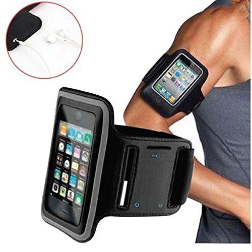 NeoActive-Bracciale da sport per iPhone 5/5s/5c, con tasca da braccio per sport, fitness e per il tempo libero in Neoprene