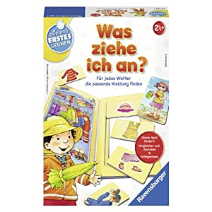"Ravensburger 24736 3 ""What Do I Wear"" Game"