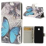 jbTec® Flip Case Handy-Hülle zu Huawei Ascend Y330 - BOOK