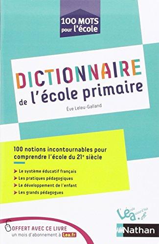 Dictionnaire de l'école primaire