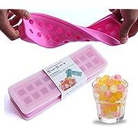 meiper nuovo 20fori cubetti di ghiaccio cubetti di ghiaccio fai da te stampi per cubetti di ghiaccio per cibo (Set di 2)